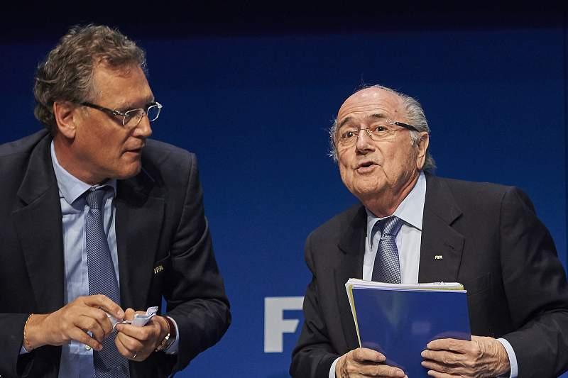 Valcke e Blatter