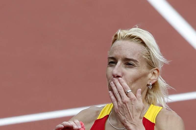 Marta Dominguez, antiga atleta espanhola