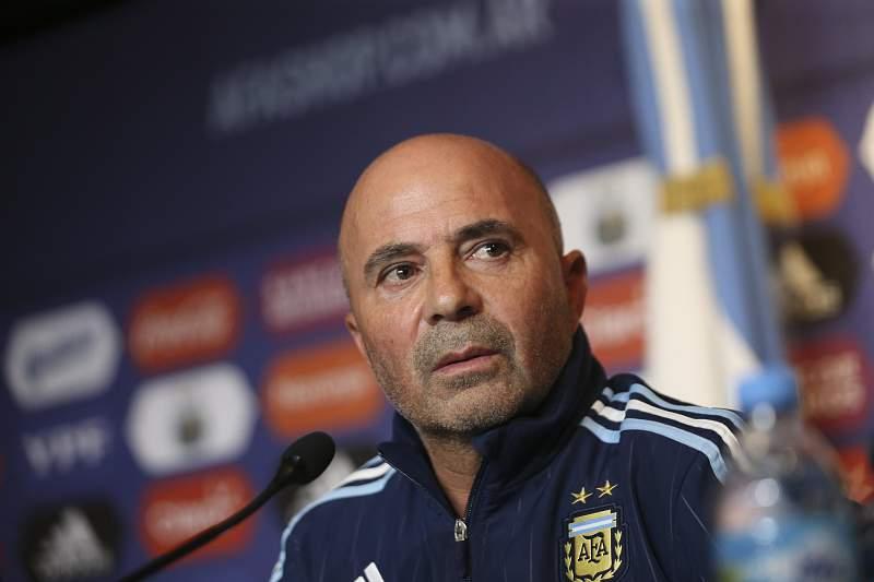 Jorge Sampaoli, selecionador da Argentina