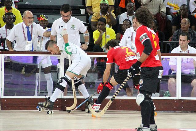 Hóquei em patins: Angola - Espanha