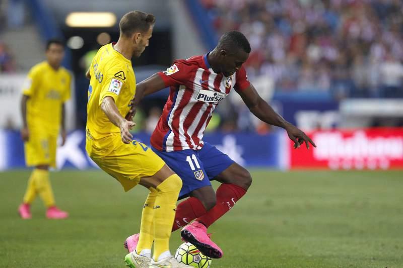 Jackson Martínez em ação pelo Atlético Madrid