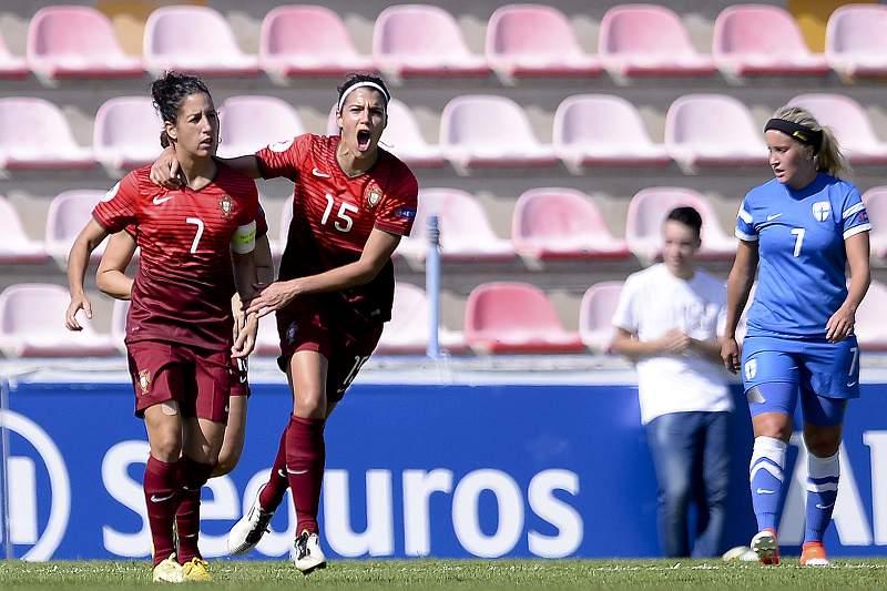 Futebol feminino: Portugal - Finlândia