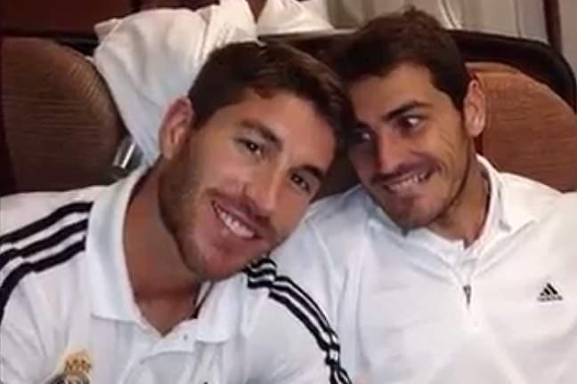 Sergio Ramos publica vídeo dedicado a Casillas