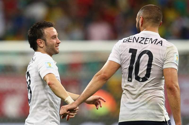 Valbuena e Benzema: tão amigos que eles são. Ou eram?