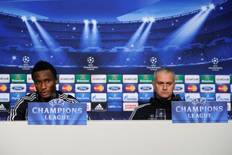 Mikel e Mourinho