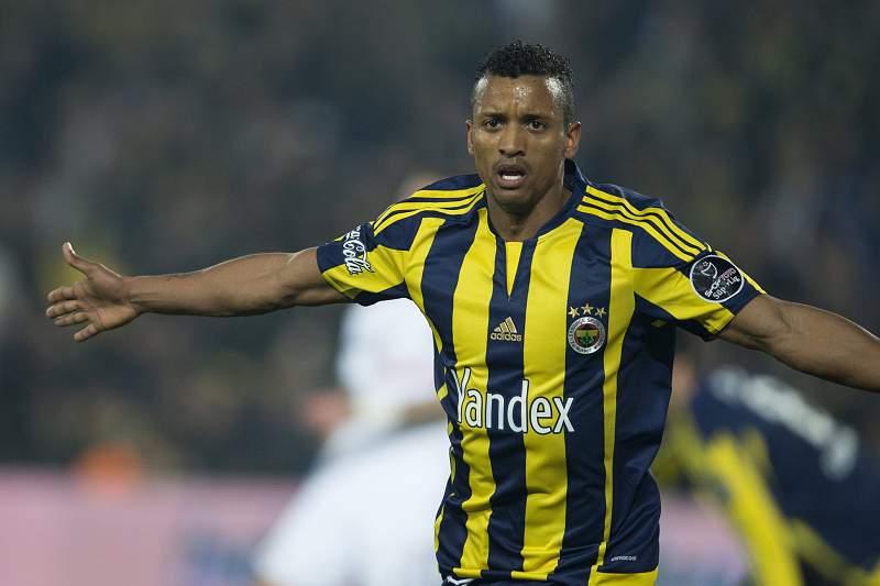 Nani marcou pelo Fenerbahçe