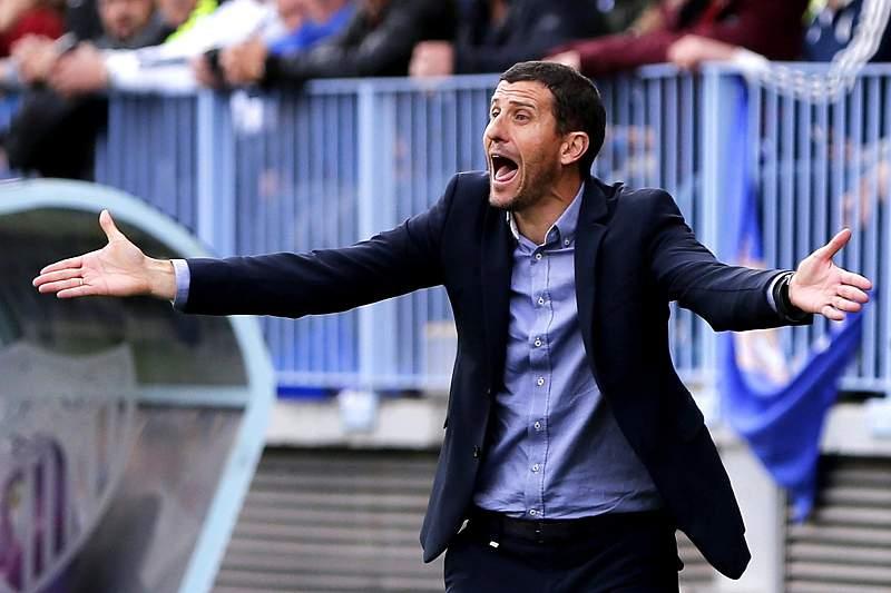 Javi Gracia, treinador do Málaga