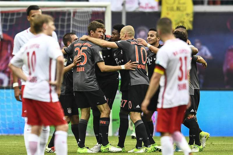 Bayern vence RB Leipzig por 5-4 em partida de loucos