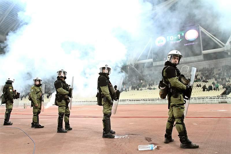 Violência no futebol grego