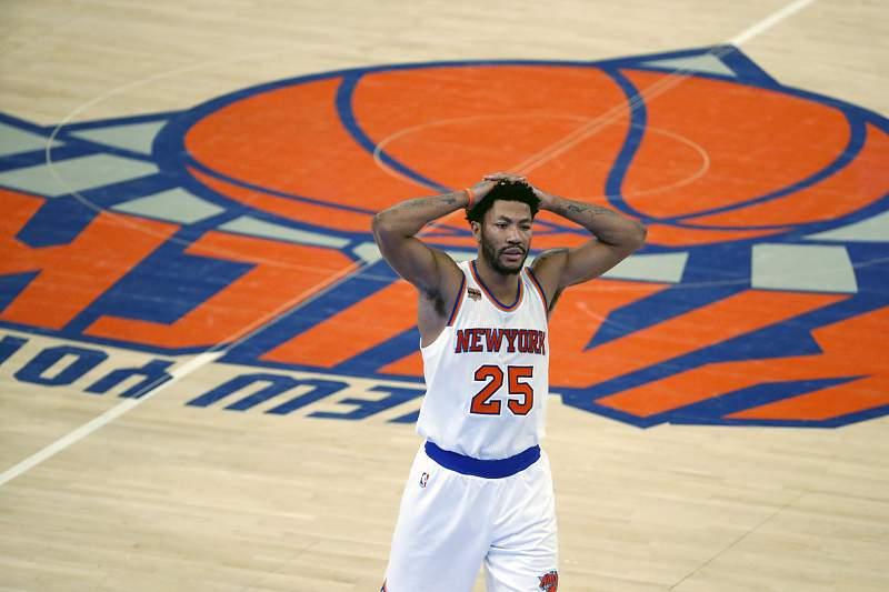 Derrick Rose, base dos New York Knicks