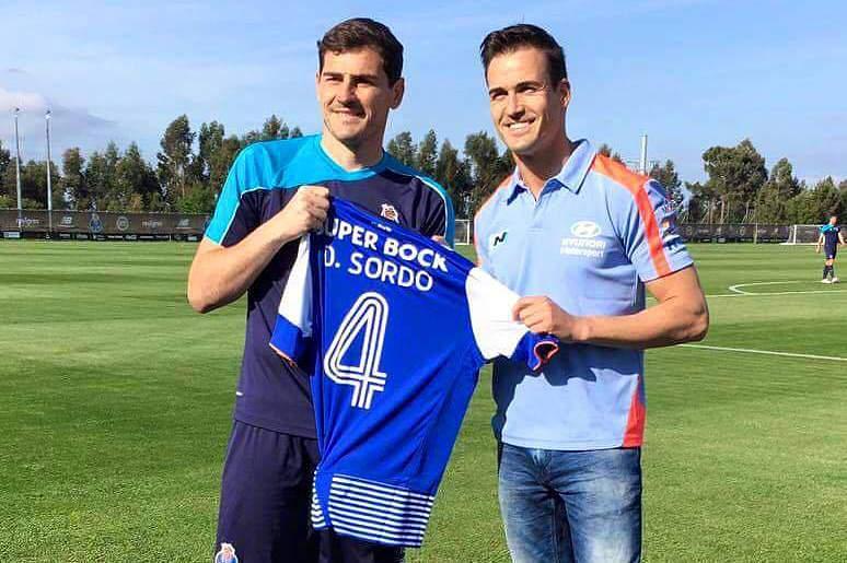 Casillas e Dani Sordo