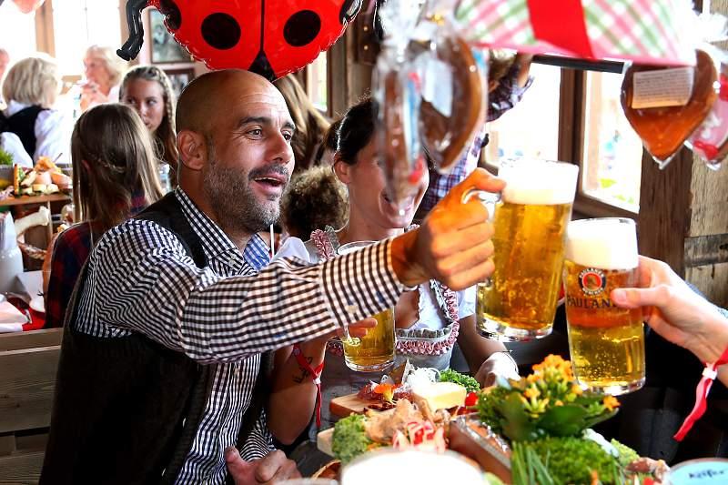 Bayern em festa na Oktoberfest