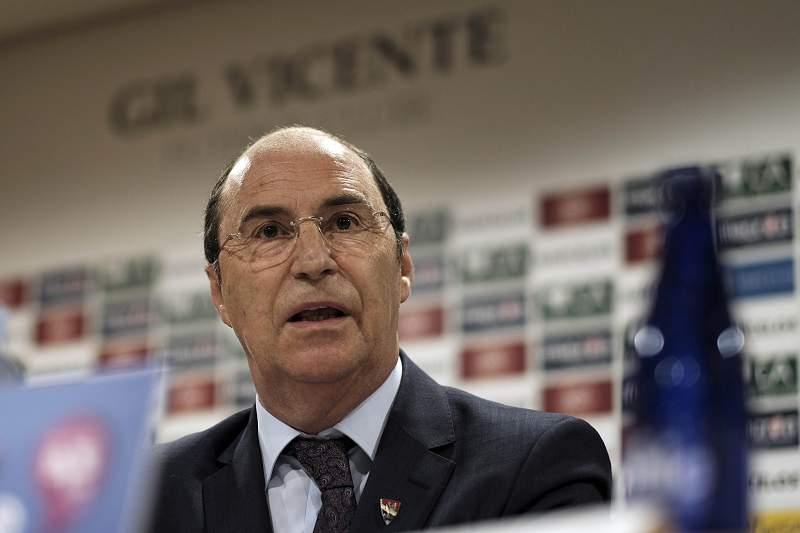 Conferência de imprensa da direção do Gil Vicente