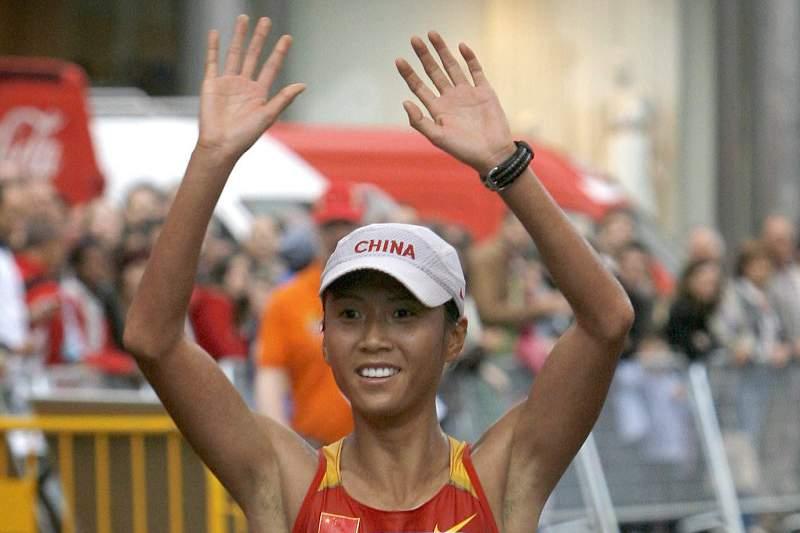 Atleta chinesa Liu Hong