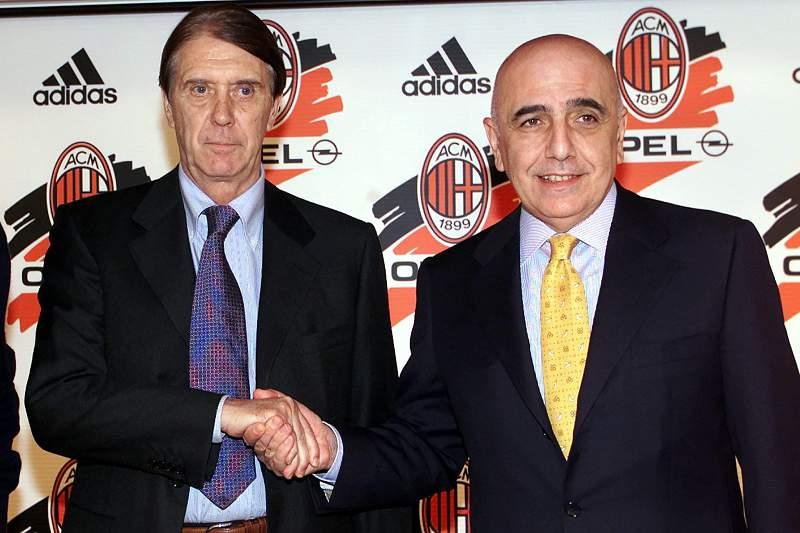Cesare Maldini e Adriano Galliani