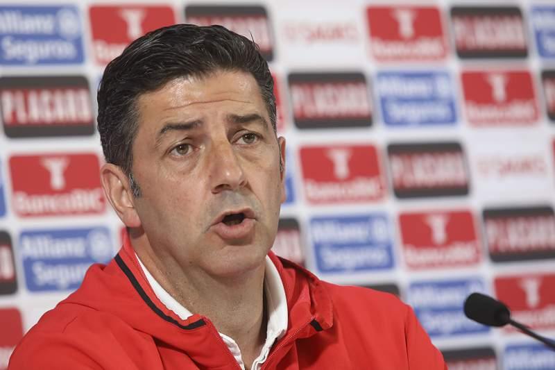 Taça de Portugal: Conferência de imprensa do Benfica