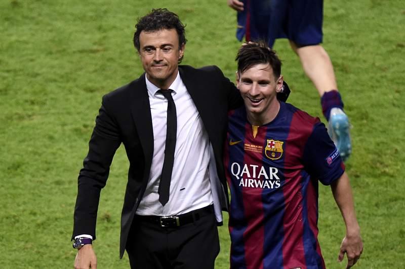 Luis Enrique e Messi