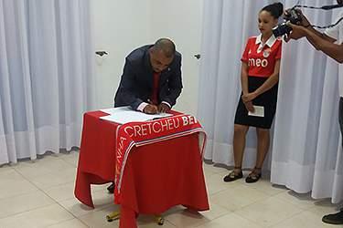 Posse da Casa do Benfica em Cabo Verde