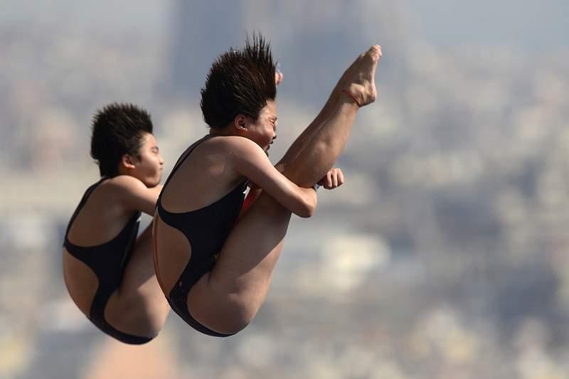 Chen Ruolin e Liu Huixia brilharam no Rio