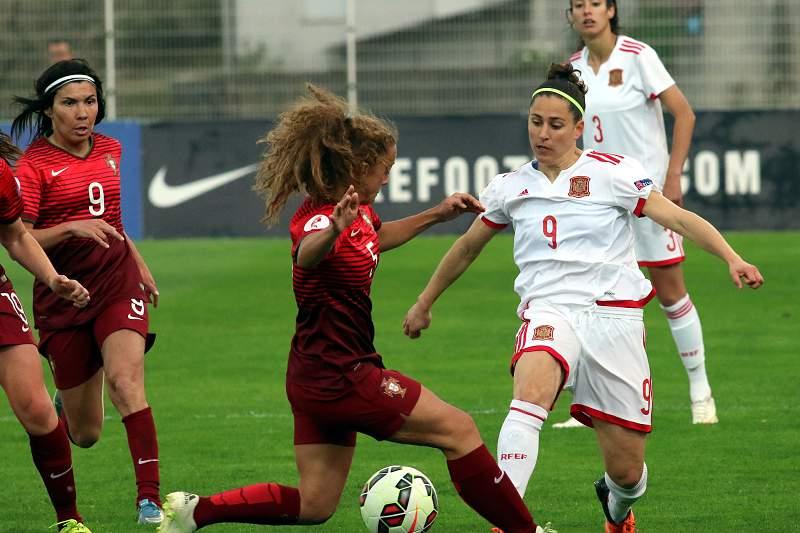 Sílvia Rebelo, jogadora da seleção feminina de Portugal