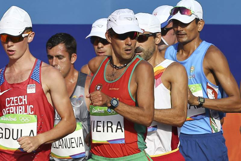 Rio 2016: 50 km marcha João Vieira