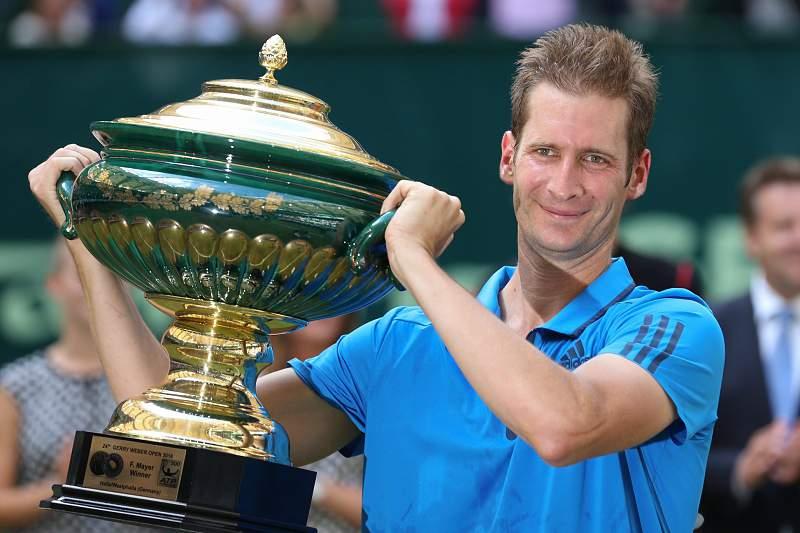 Florian Mayer vence torneio de ténis de Halle