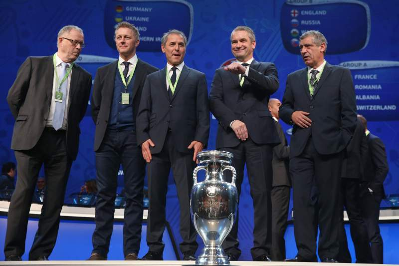 UEFA EURO 2016 Draw Paris
