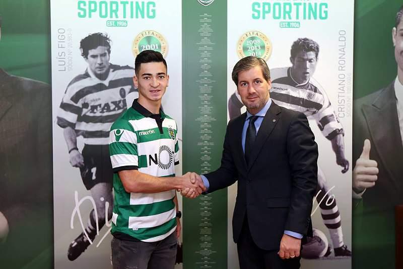 Budag Nasirov foi apresentado como reforço do Sporting