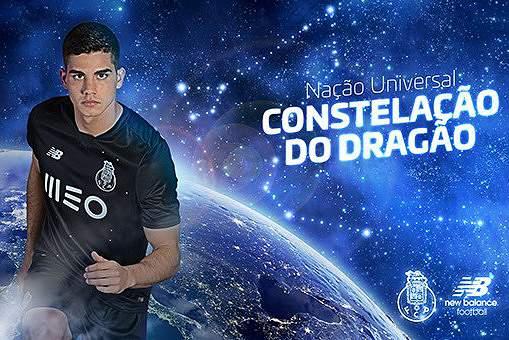 Novo equipamento do FC Porto será preto