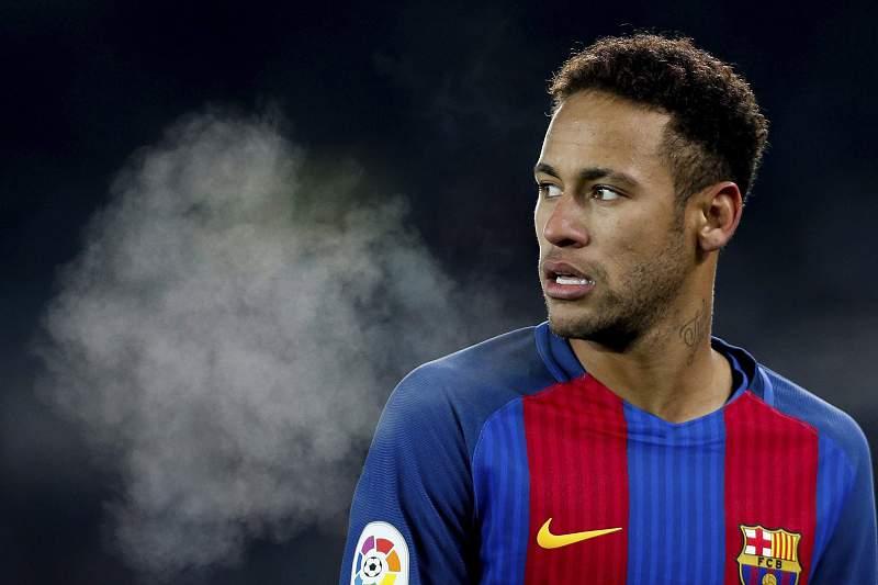 Neymar marcou o único golo no Anoeta