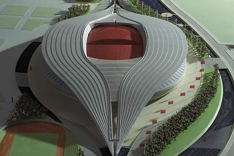 Projeto do estádio de futebol do Qatar para 2022