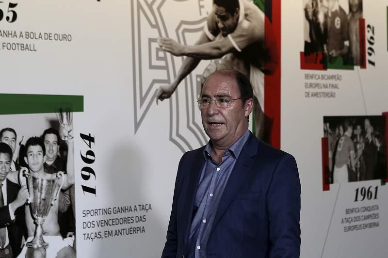 António Fiúsa, presidente do Gil Vicente