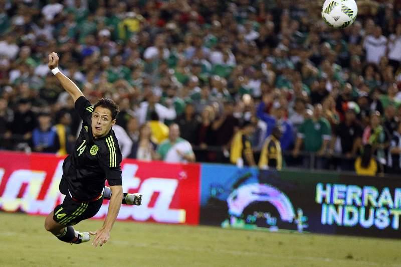 Javier Hernandez fez o golo da vitória para o México no derradeiro testa para a Copa América