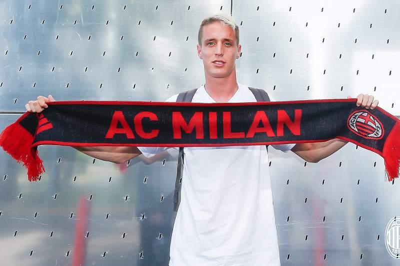 Andrea Conti no AC Milan