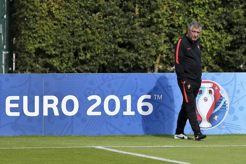 Euro 2016: Portugal National team training