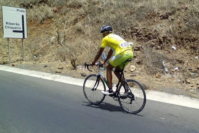 Kevem Rodrigues foi o grande vencedor do Giro Praia