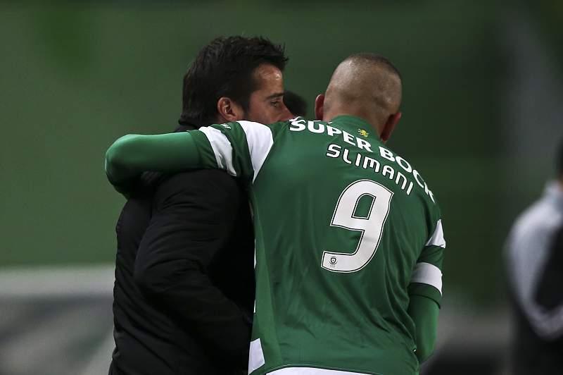 Marco Silva e Slimani