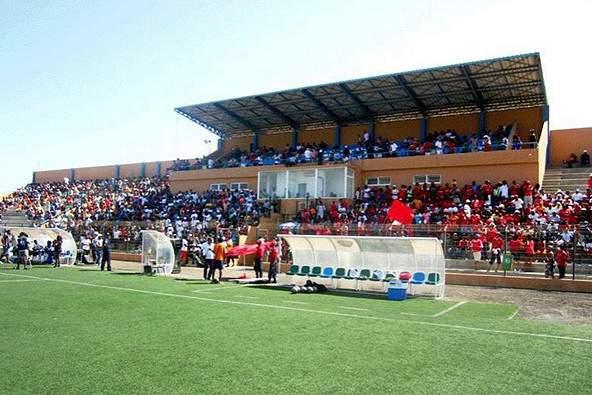 Estádio do Porto Novo em Santo Antão