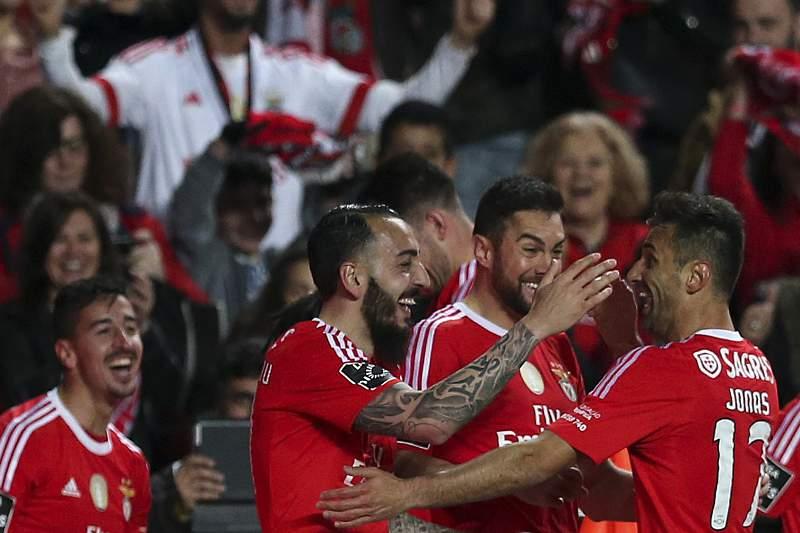 Benfica goleia Braga