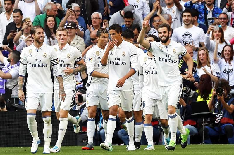 Real Madrid festeja golo