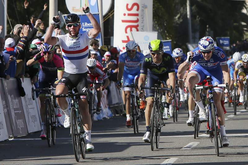 Mark Cavendish na Volta ao Algarve