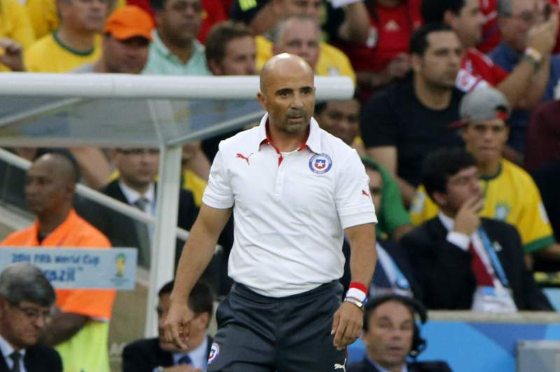 Jorge Sampaoli, selecionador do Chile