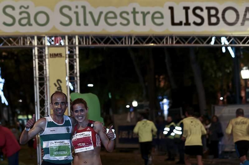 São Silvestre Lisboa 2014: Dulce Félix e Hermano Ferreira foram os vencedores