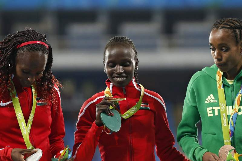 Jepkemoi Cheruyot conquistou a medalha de ouro