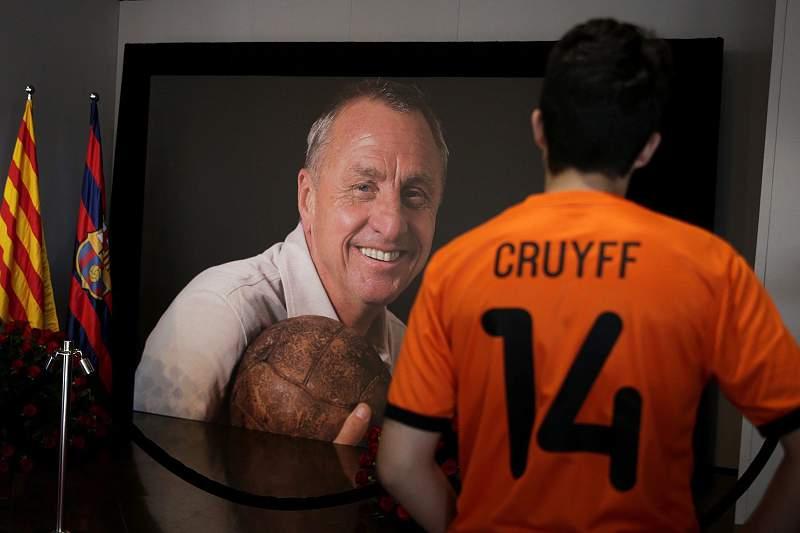 Memorial memorial de condolências a Cruyff