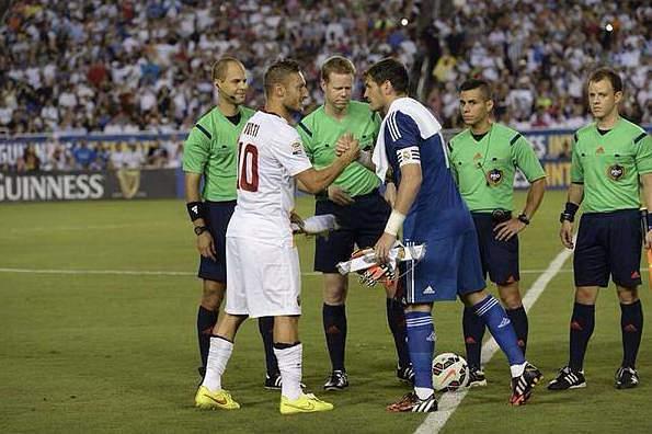 Totti lamenta saída de Casillas do Real Madrid