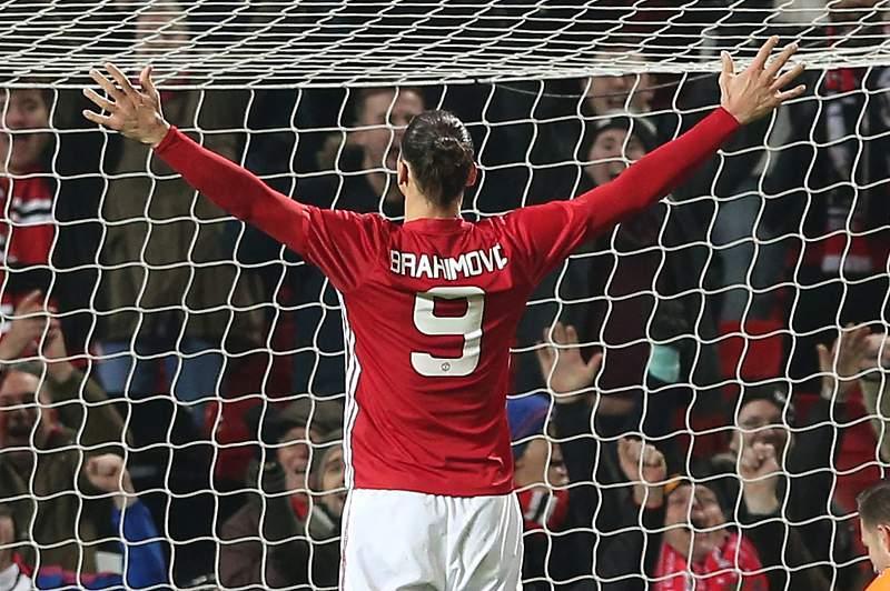 Ibrahimovic salva Mourinho da derrota frente a Klopp