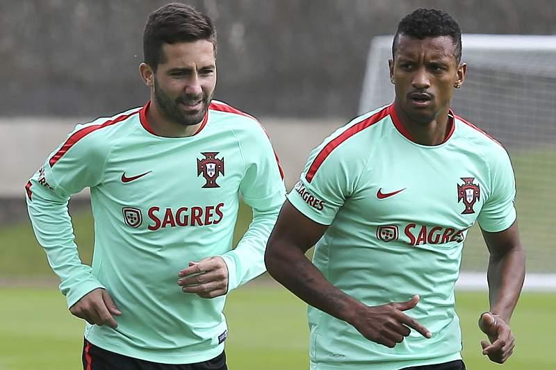 João Moutinho e Nani