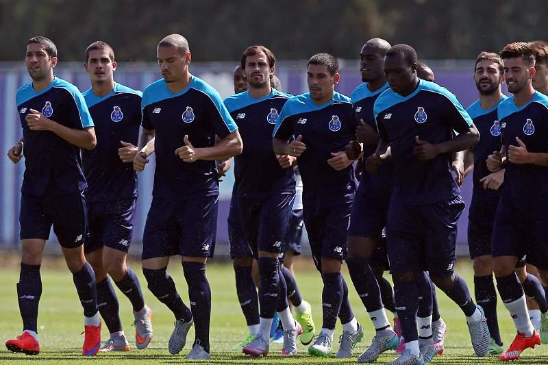 FC Porto treina no Olival
