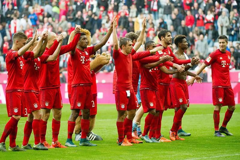 Bayern Munique festeja golo